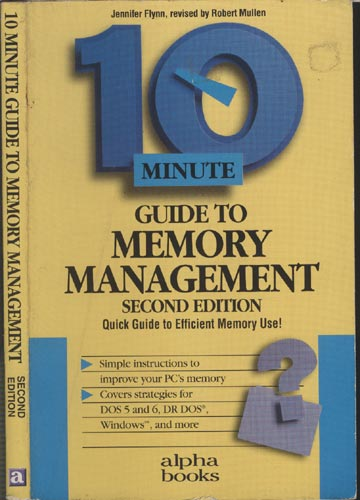 10 Minute Guide to Memory Management