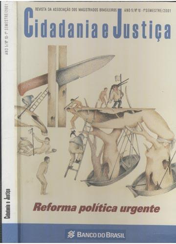 Cidadania e Justiça - Ano 5 - Nº.10 - 1º Semestre / 2001