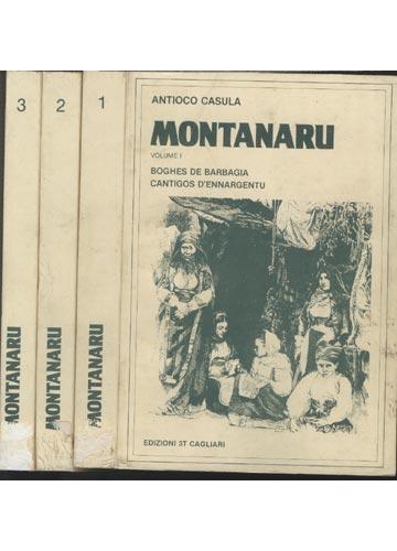 Montanaru - 3 Volumes