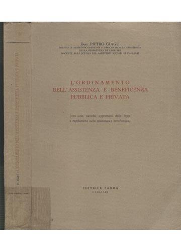 L'Ordinamento dell' Assistenza e Beneficenza Publica e Privata
