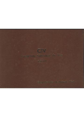 CIV - Caderneta Individual de Vôo - Inicial