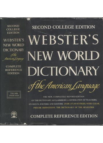Webster's New World Dictionary of the American Language - Complete Reference Edition