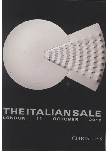 Christie's  - London - The Italian Sale - 11 October 2012