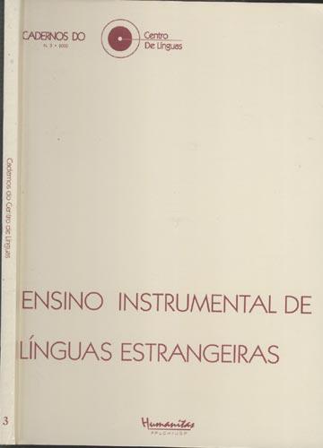 Cadernos do Centro de Línguas - Nº.2 - Ensino Instrumental de Línguas Estrangeiras