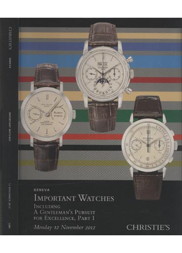 Christie's - Geneva - Important Watches - 12 November 2012