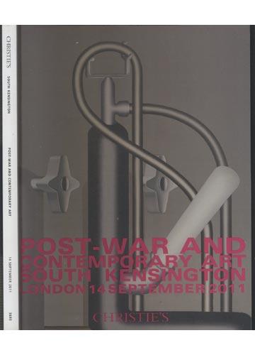 Christie's - South Kensington - Post War and Contemporary Art - 14 September 2011