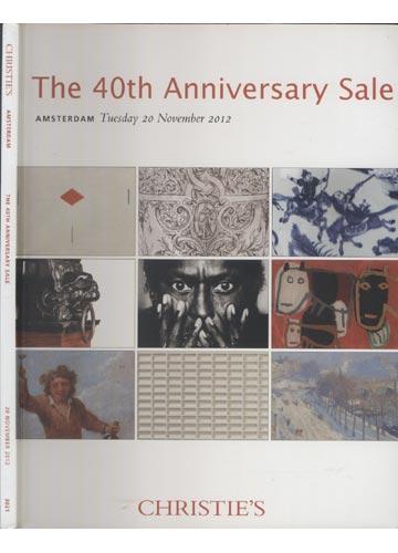 Christie`s - Amsterdam - The 40th Anniversary Sale 20 November 2012