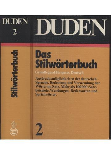 Duden - Das Stilwörterbuch - Volume 2