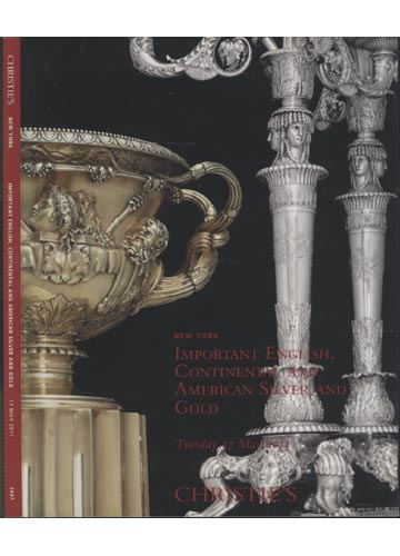 Christie's - New York - Important English Continental and American Silver and Gold - 17 May 2011