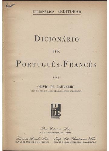 Dicionário de Português-Francês