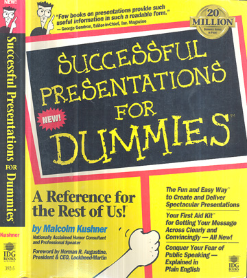 Successful Presentation for Dummies