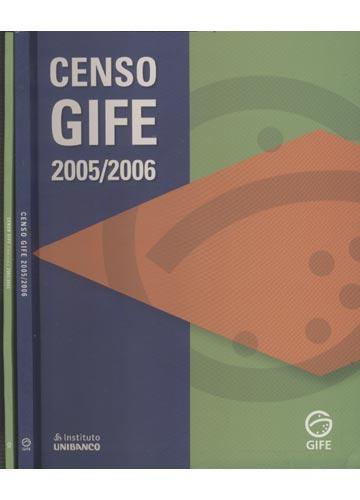 Censo Gife  2005 / 2006 - Educação - 2 volumes