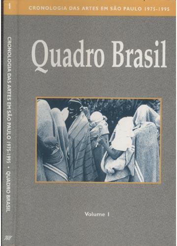 Cronologia das Artes em São Paulo 1975-1995 - Quadro Brasil