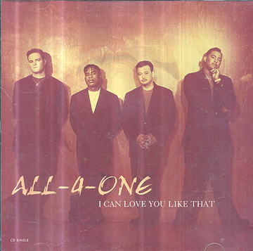 All-A-One - I Can Love You Like That *single importado*