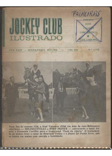 Jockey Club Ilustrado - Ano XXIV - Nº.1710