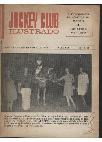 Jockey Club Ilustrado - Ano XXV - Nº.1751