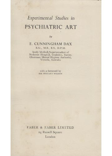 Experimental Studies in Psychiatric Art