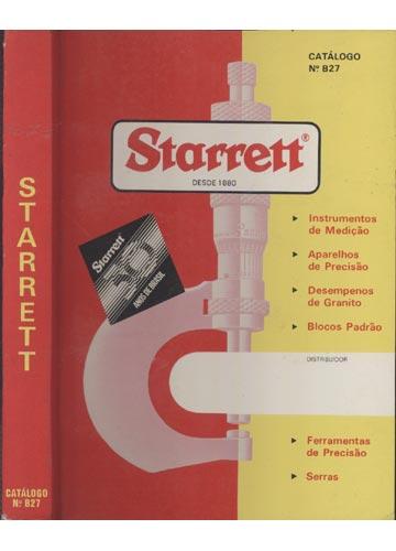 Starrett -  Catálogo Nº. B27