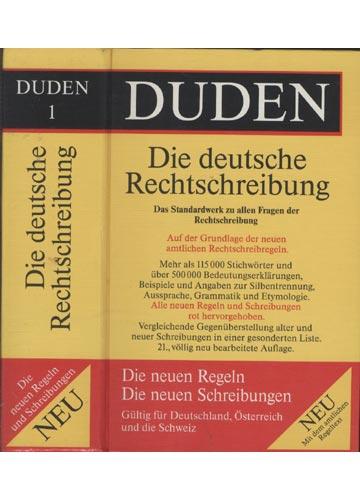 Duden - Volume 1 - Die Deutsche Rechtschreibung