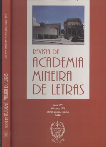 Revista da Academia Mineira de Letras - Ano 87º Volume LVI